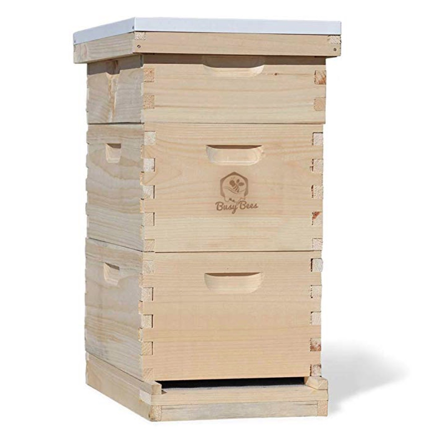 Busy Bee's -n- More Complete 8 Frame Langstroth Bee Hive
