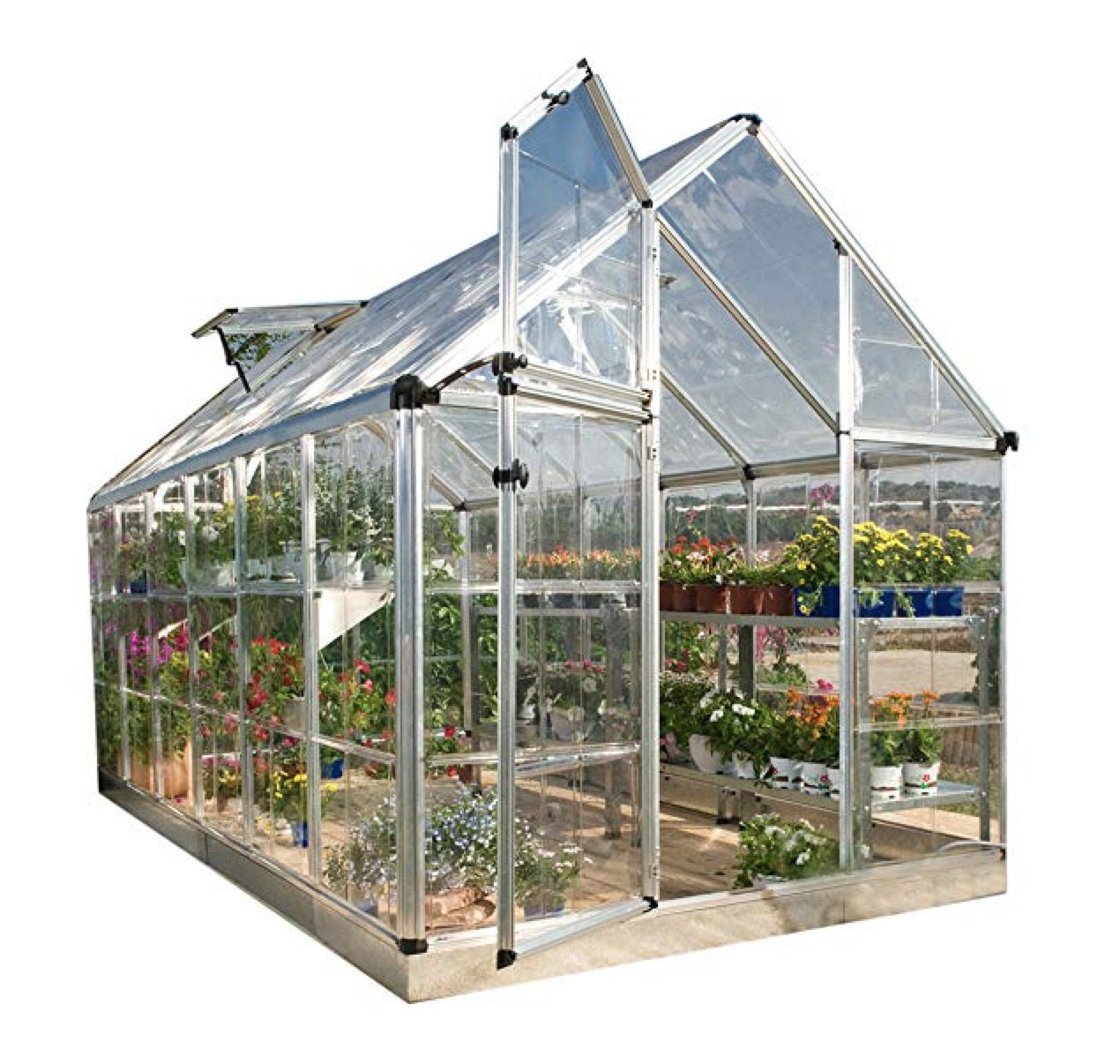 Palram Snap & Grow 6' Series Hobby Greenhouse